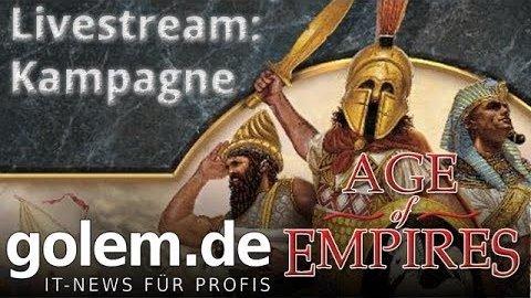 Golem.de spielt Age of Empires Definitive Edition