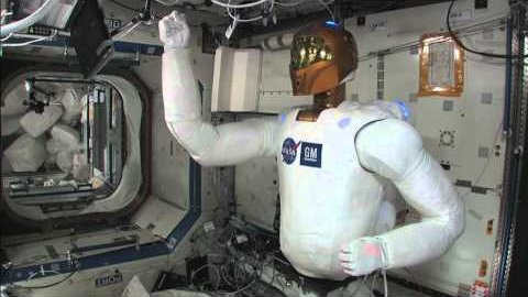 Bewegungstest von Robonaut 2 auf der ISS - Nasa