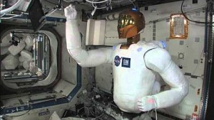 Bewegungstest von Robonaut 2 auf der ISS - Nasa