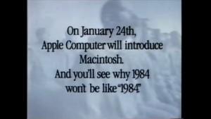 Apple 1984 - Werbespot