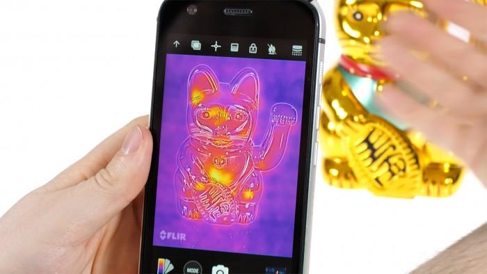 Cat s61 im hands on: smartphone kann luftreinheit und entfernungen