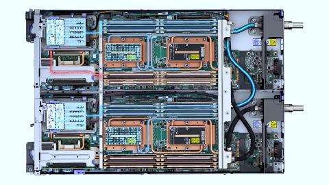 Lenovo zeigt das Think System SD650 DWC