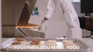 Flippy bei der Arbeit (Herstellervideo)
