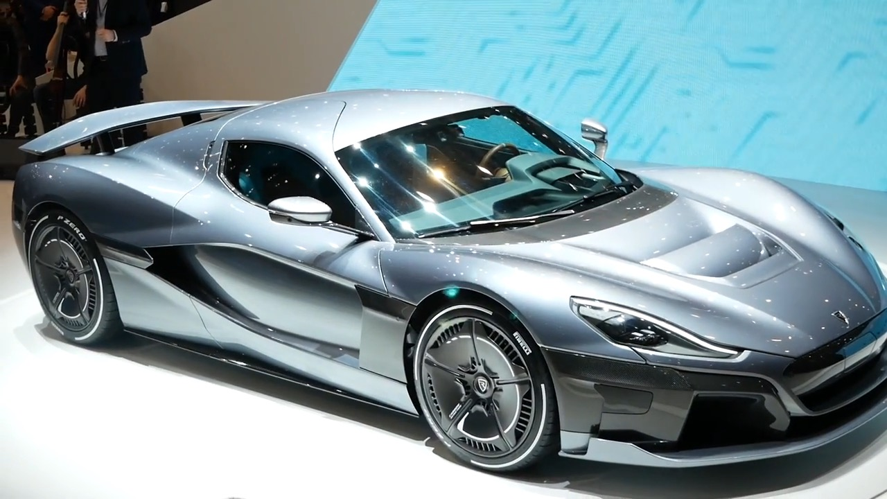 Rimac Concept Two C Two Angesehen Genf 2018 Video