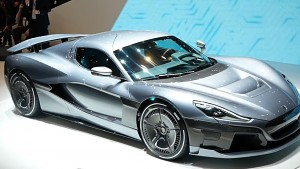 Rimac Concept Two (C_Two) angesehen (Genf 2018)