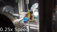 Rubik's Cube wird in 0,38 Sekunden gelöst