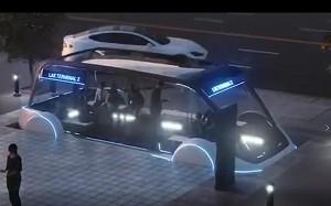 Hyperloop für Fußgänger und Radfahrer (Firmenvideo)