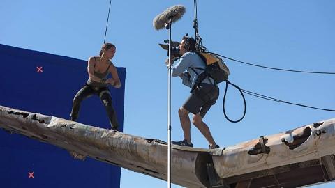 Tomb Raider (2018) - Training und Stunts am Set
