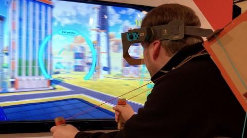 Erfinde neue Spielmöglichkeiten mit der Toy-Con-Werkstatt - Episode 1