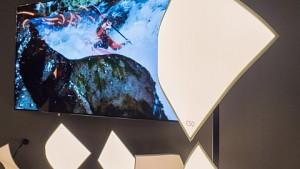 LG Display CSO light angesehen (Light Building 2018)
