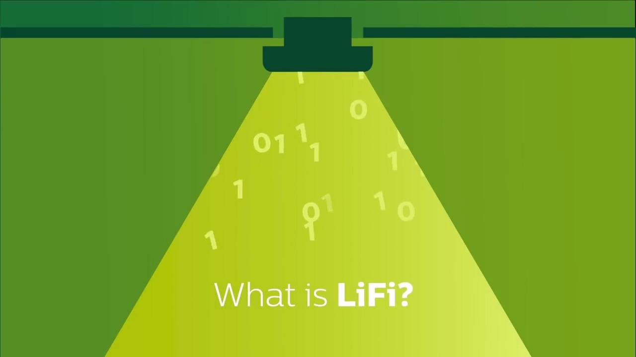 Philips Li Fi Systems Vorgestellt Herstellervideo