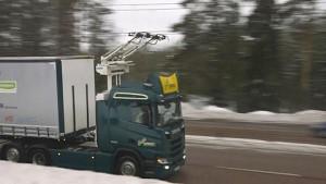 E-Lkw mit Oberleitung - Bericht