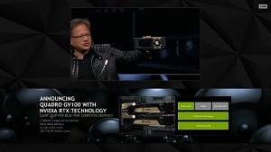 Nvidia kündigt Quadro GV100 an (GTC 2018)