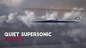 Leises Überschallflugzeug - Nasa