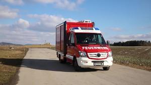 Kreisel Electric - Feuerwehreinsatzfahrzeug mit Elektroantrieb
