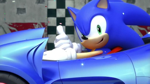 Sonic und Sega All Stars Racing-Trailer