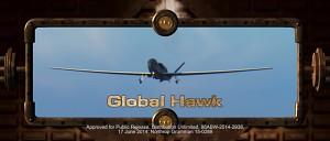 Northrop Grumman zeigt die Global Hawk - Herstellervideo