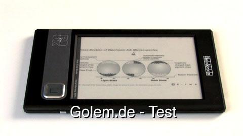 Bookeen E-Book-Reader Cybook Gen3 - Test