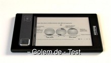 Bookeen E-Book-Reader Cybook Gen3 - Test