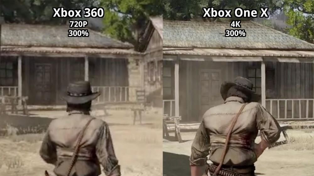 Red Dead Redemption in 4K - Grafikvergleich