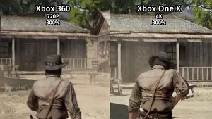 Red Dead Redemption in 4K - Grafikvergleich