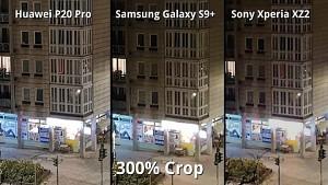 Kameravergleich P20 Pro, Xperia XZ2, Galaxy S9 Plus