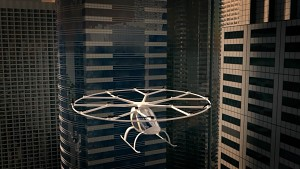 Voloports als Infrastruktur für Volocopter