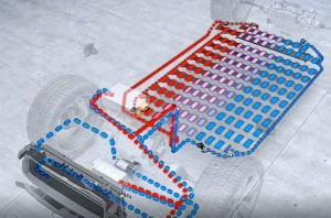 Das Kühlsystem des Audi E-Tron (Herstellervideo)