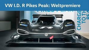 Elektrorennwagen ID R Pikes Peak - VW