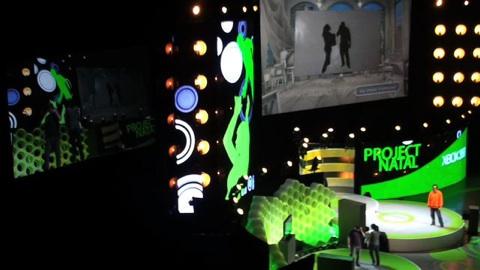 Project Natal - Techdemos von der E3 2009