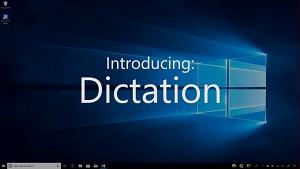 Microsoft zeigt Diktierfunktion Dictation