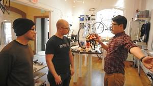 Lumos-Fahrradhelm mit Apple-Watch-Steuerung
