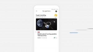 Google zeigt das neue Google News (Google IO 2018)