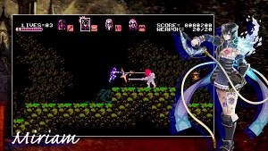 Bloodstained Curse of the Moon (8-Bit-Prequel) - Trailer