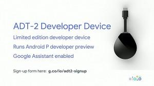 Android-TV-Stick für Entwickler (Google IO 2018)