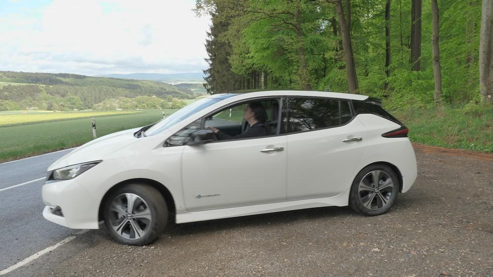 Nissan Leaf 2018 ausprobiert