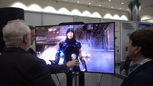 Simulated Reality Display von Dimenco angesehen