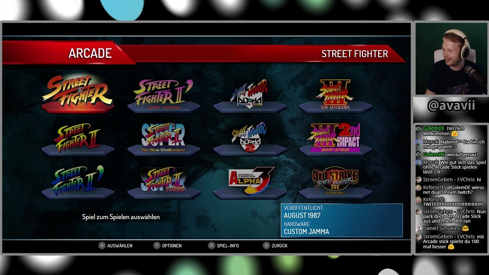 Street Fighter 30th Anniversary Collection - Live