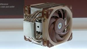 Noctua zeigt CPU-Kühler mit fast spaltlosem Lüfter