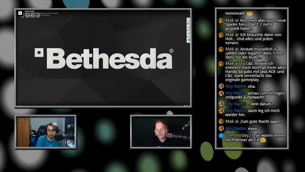 Bethesda E3 2018 Pressekonferenz -Live
