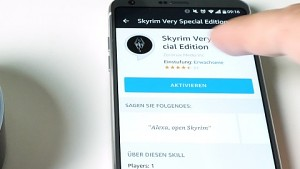 Skyrim Very Special Edition für Alexa ausprobiert
