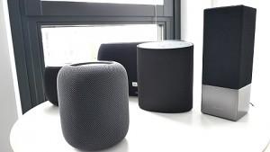 Fünf smarte Lautsprecher von 200 bis 400 Euro im Vergleich