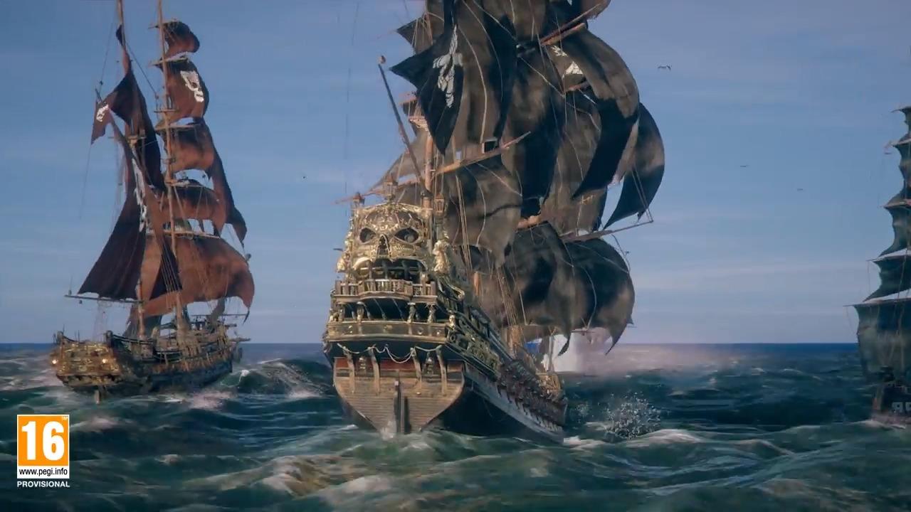 Skull And Bones Video Game 2018 Ubisoft: Gameplay (E3 2018)