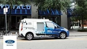 Ford testet Liefern ohne Fahrer