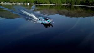 Jaguars Rekord-Rennboot mit Elektroantrieb