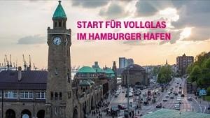 Glasfaserausbau im Hamburger Hafen ist gestartet (Firmenvideo)