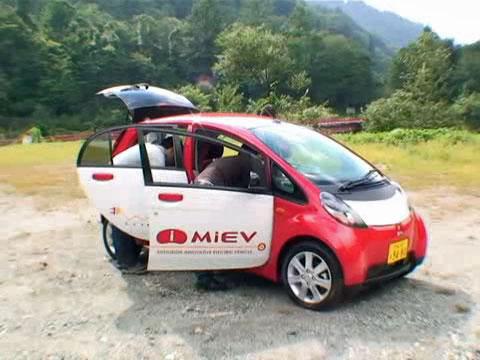i-MiEV - Testfahrt durch Japans Berge
