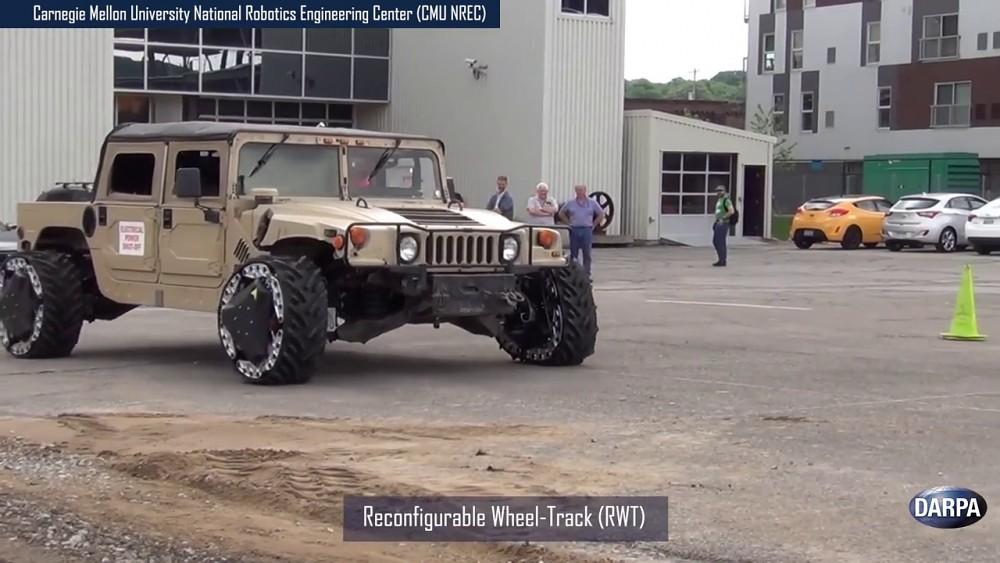 Ground X-Vehicle Technologies - Darpa