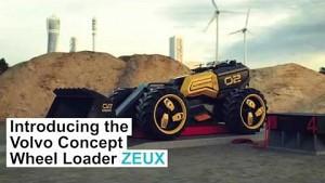 Autonomer Radlader Zeux von Lego und Volvo