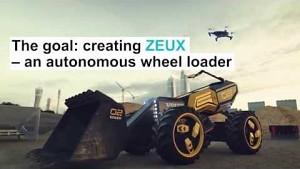 Autonomer Radlader Zeux - Trailer